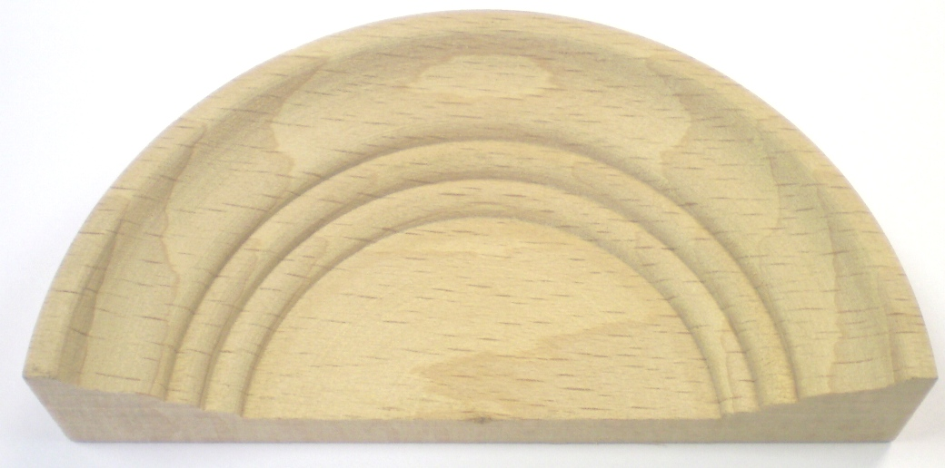 Turned Wooden Ornament 91 x 19mm